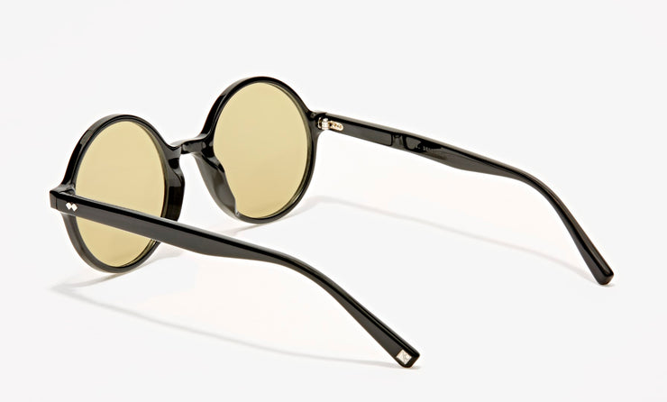 abbey medium acetate round sunglasses