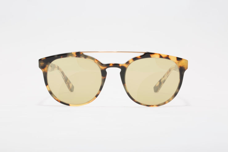 franco large components round sunglasses