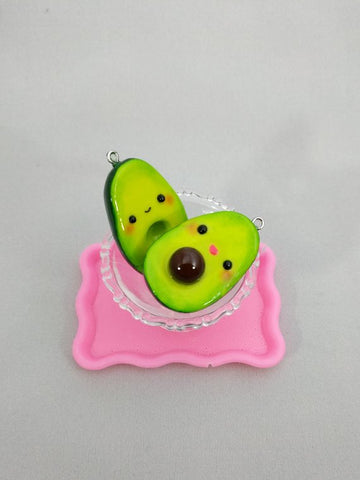 Cute Avocado Charms