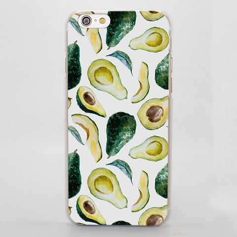 Avocado Slices (Apple iPhone)-for iPhone 4 4s 4g-Avocado Design Store