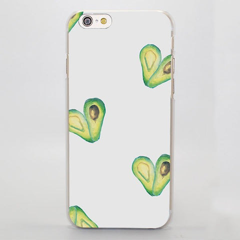 Avocado Heart (Apple iPhone)-for iPhone 4 4s 4g-Avocado Design Store