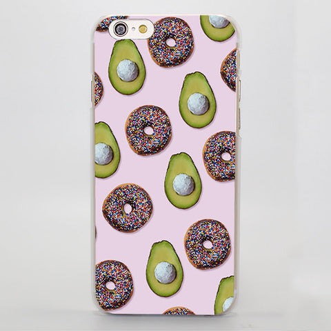 AvoDonuts (Apple iPhone)-for iPhone 4 4s 4g-Avocado Design Store