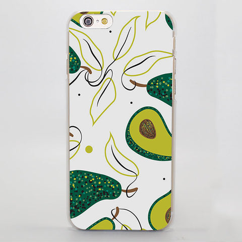 Avocado Leaves (Apple iPhone)-for iPhone 4 4s 4g-Avocado Design Store