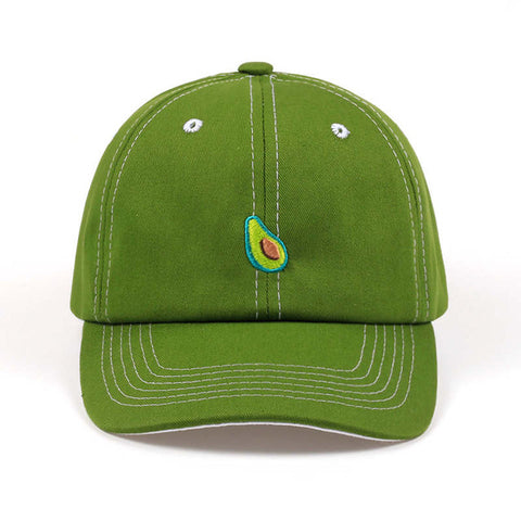 Minimalist Avocado Baseball Cap-Avocado Design Store