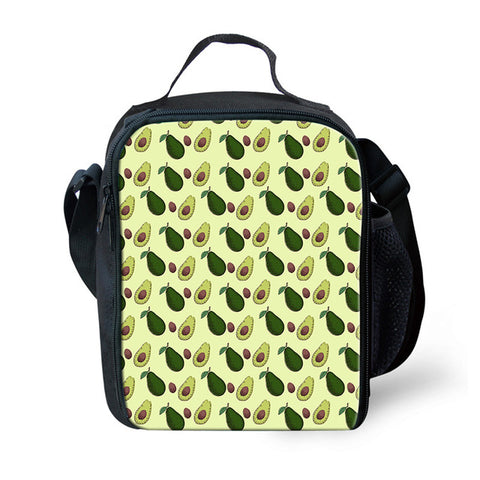 Avocado Lunch Box-Avocado Mosaic 5-Avocado Design Store