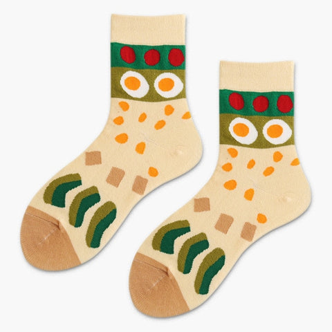 Avocado Sushi Socks-Avocado Sushi-Avocado Design Store