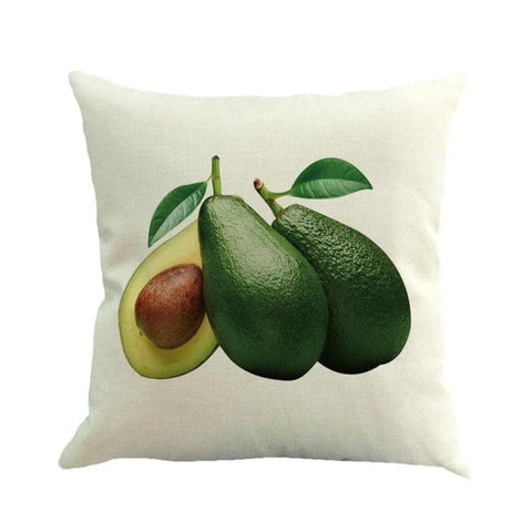Avocado Throw Pillow Case-Avocado Design Store