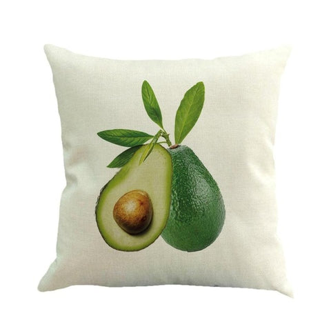 Avocado Cushion Cover-Avocado Design Store
