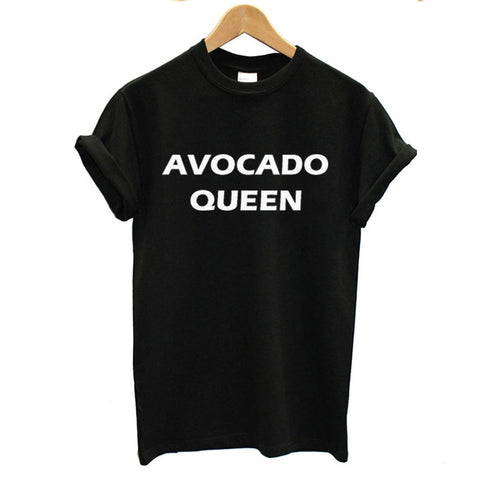 Avocado Queen Shirt-Black-L-Avocado Design Store