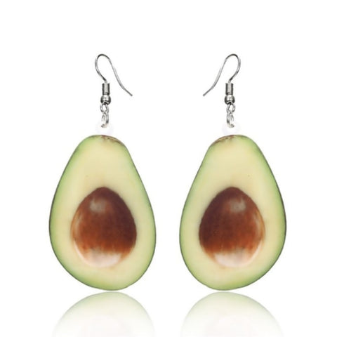 Avocado Hook Earrings-Avocado Design Store