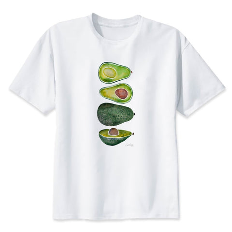 Watercolor Avocado Women Shirt