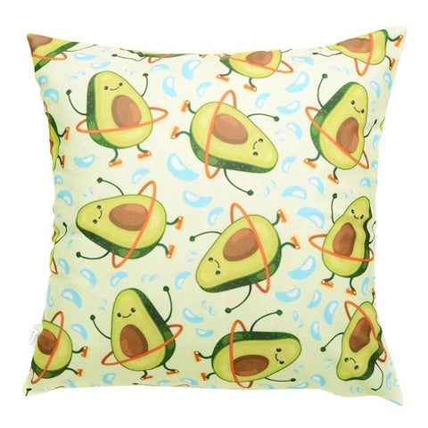 Hula-hoop Avocado Cushion Cover-Avocado Design Store