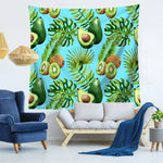 Summer Avocado Pattern Tapestry-Kiwi Avocado-150x130-Avocado Design Store