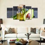 Avocado 5-panel Canvas-20x35 20x45 20x55cm-No Frame-Avocado Design Store