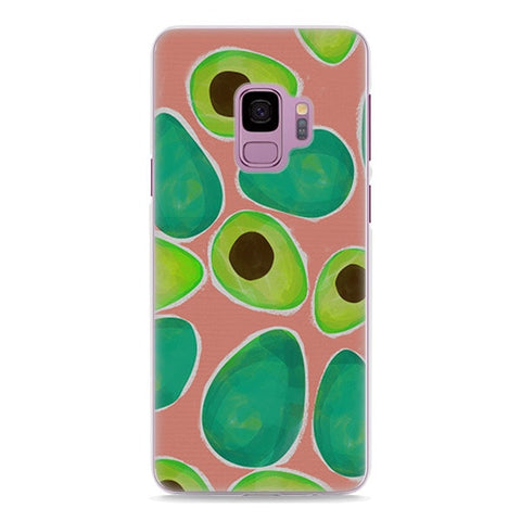 Crayon Avocado (Samsung)-for Samsung S9-Avocado Design Store