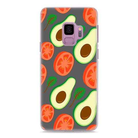 Tomato Avocado (Samsung)-for Samsung S9-Avocado Design Store