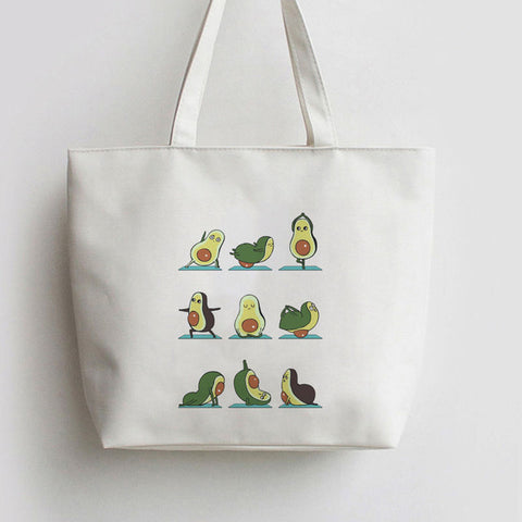 Avocado Yoga Tote Bag-Avocado Design Store