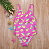 Hot Pink Avocado One Piece