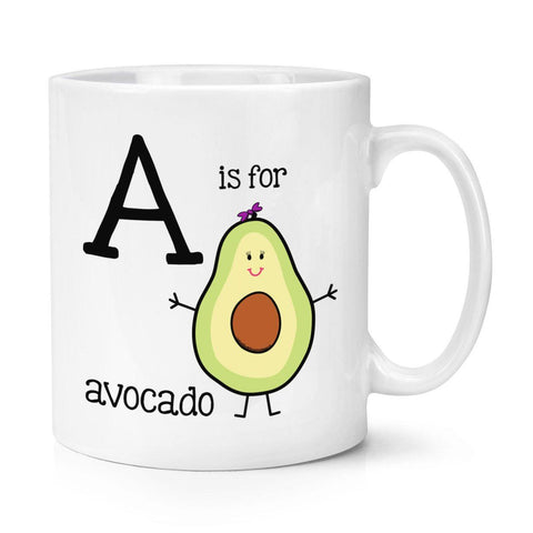A Is For Avocado Mug + Spoon