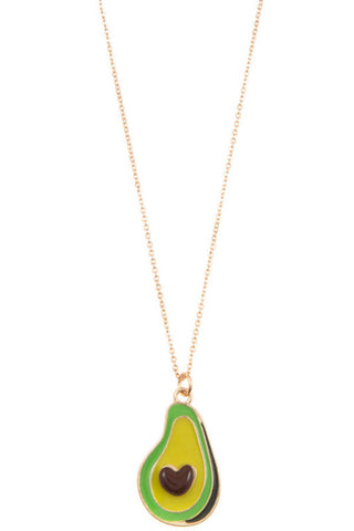 Avocado Golden Pendant