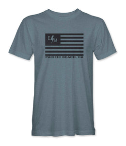 American Dream TShirt (Grey Triblend)