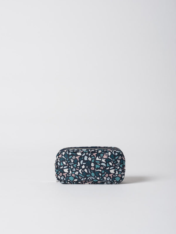 Meadow Coated Cosmetic Purse Navy/Multi