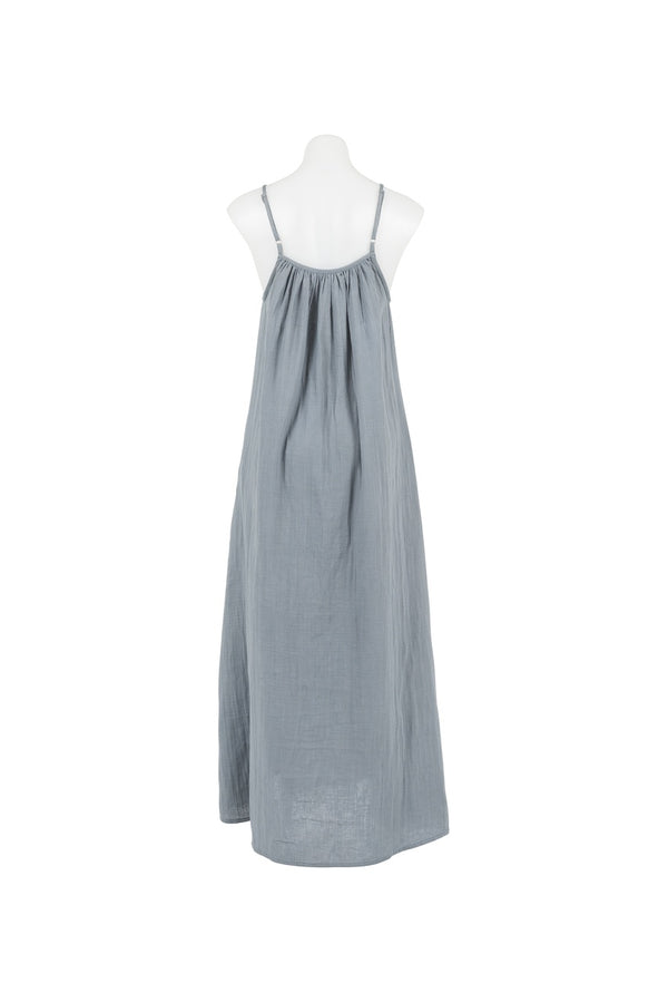 Women's Muslin Dress Grey