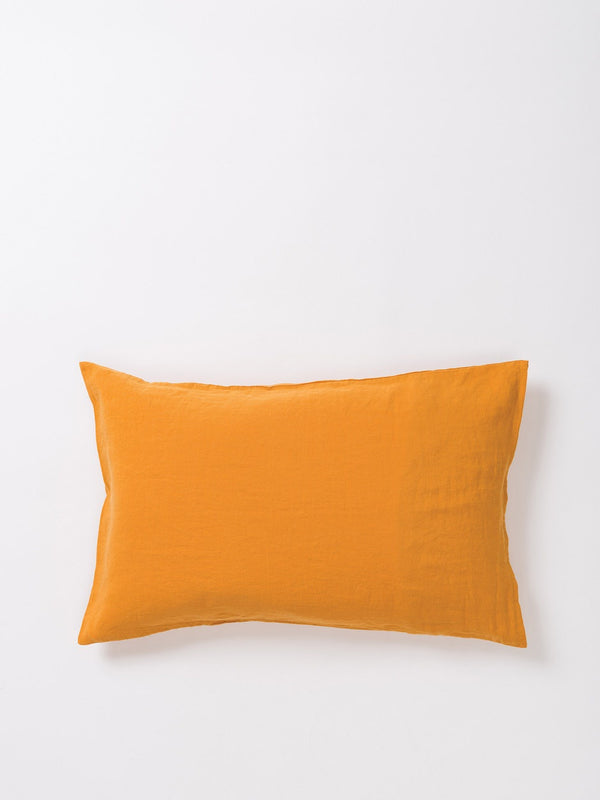 Sove Linen Pillowcase PR Pumpkin