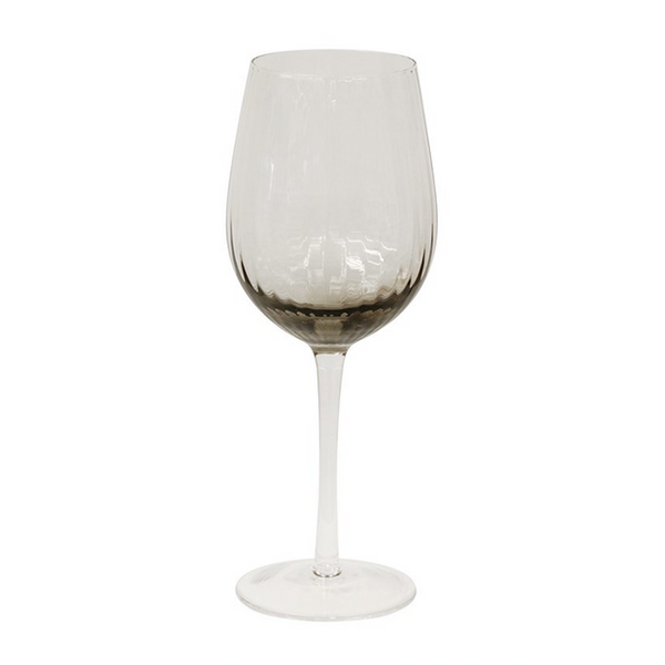 Smoked Wine Glass Set/4