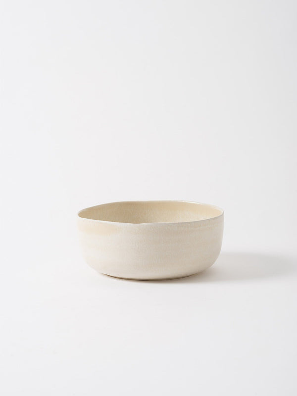 Milu Serving Bowl Off White L
