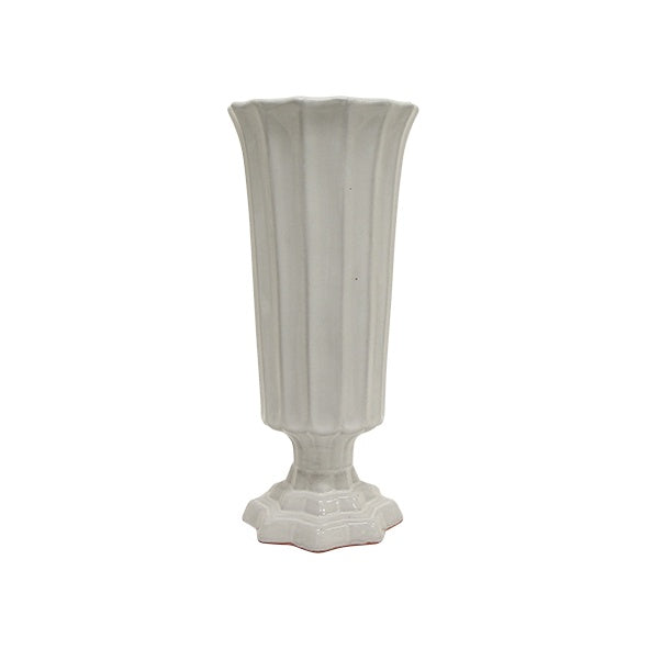 Stella Ribbed Vase Medium