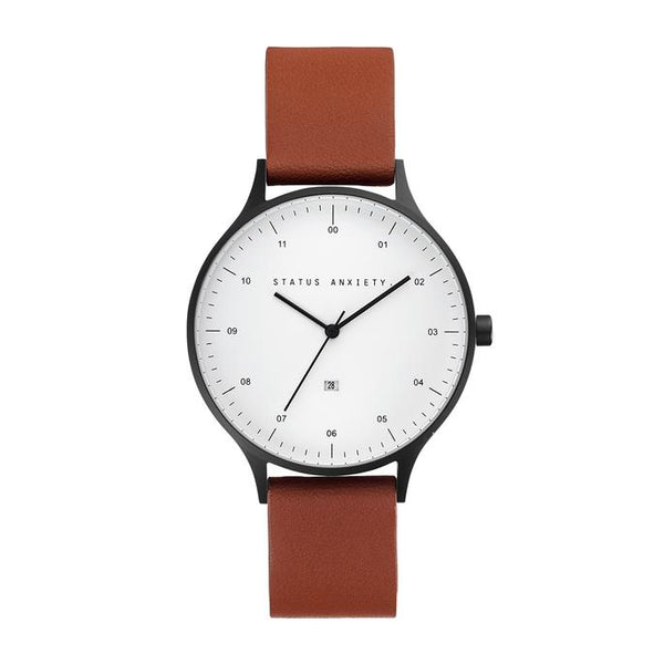 Inertia Watch Black-White-Tan
