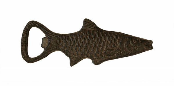 Cast Iron Fish Bottle Opener