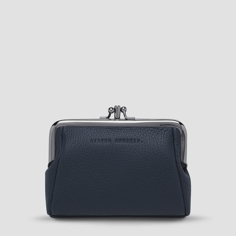 Volatile Purse - Navy Blue