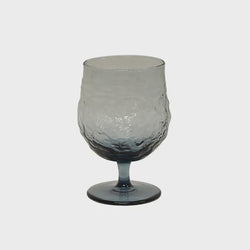 Serena Blue Wine Goblet Set/4