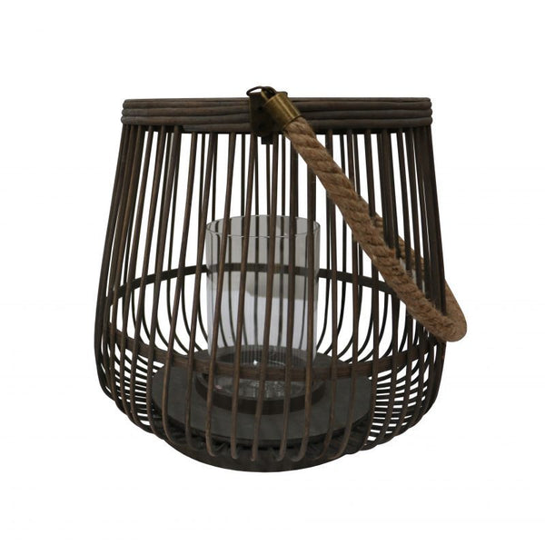 Alabama Bamboo Lantern Large Natural