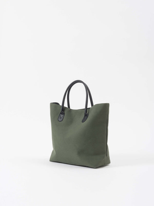 Canvas Shopping Bag Olive
