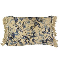 Indigo Leaf Cushion 40x60cm