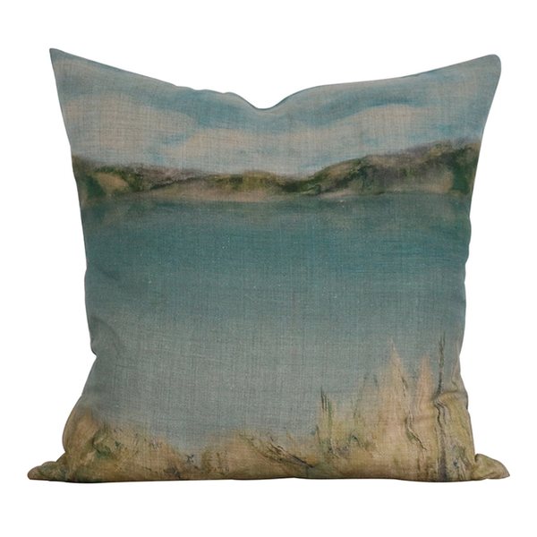 Island Summer Linen Cushion
