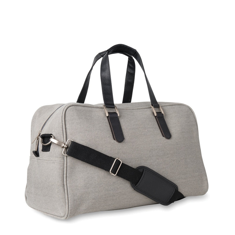 Canvas Travel Bag Light Grey