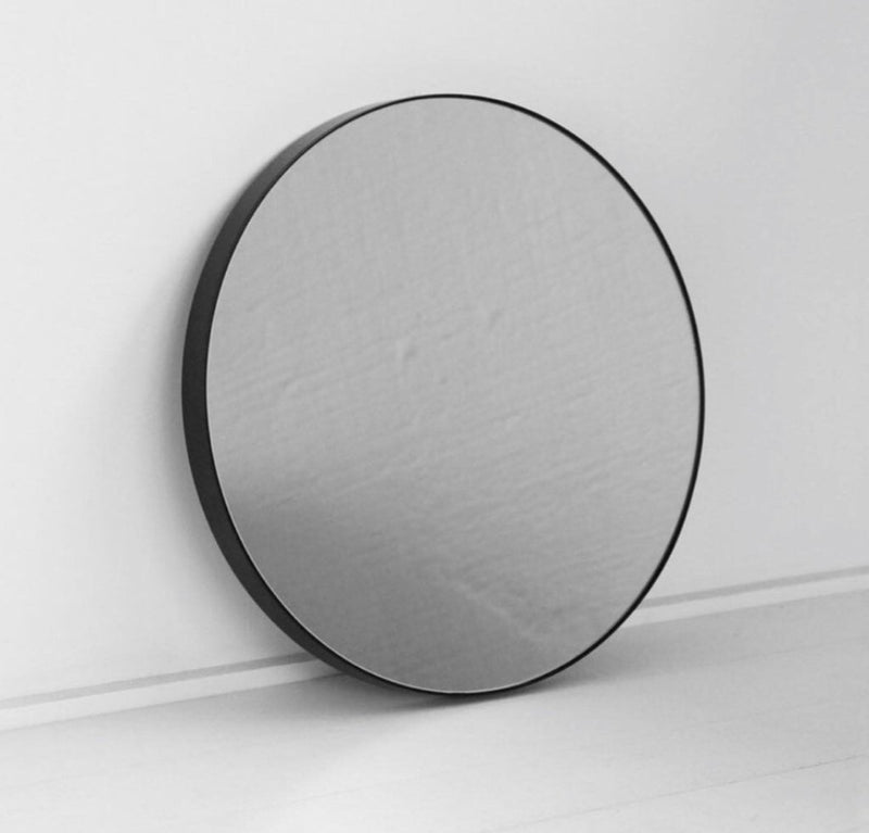 NED Black Frame Mirror - M