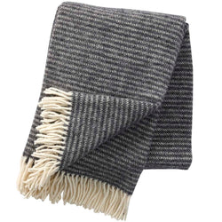 Throw 100% Lambs Wool - Ralph Dark Grey
