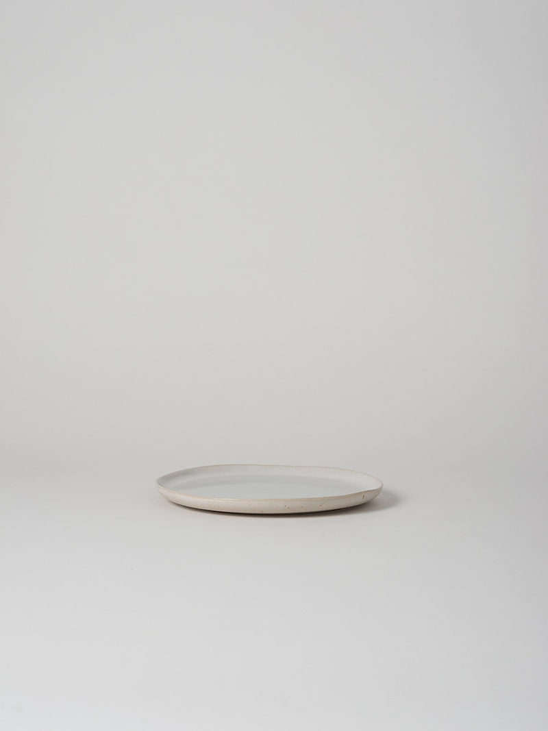 Finch Lunch Plate White/Natural