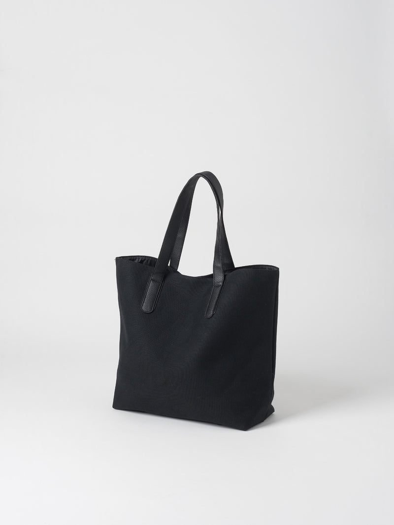 Canvas Shopping Bag Black