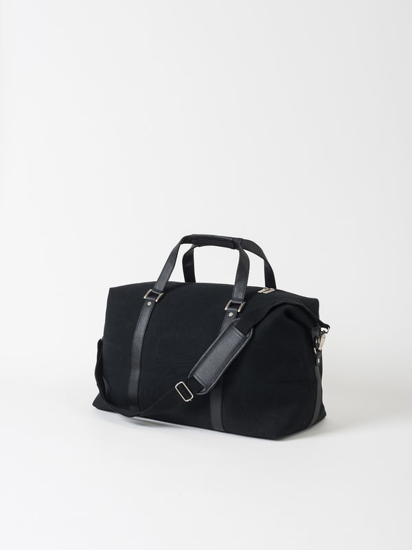 Canvas Weekender Bag Black