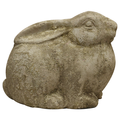 Aged Stone Rabbit Large