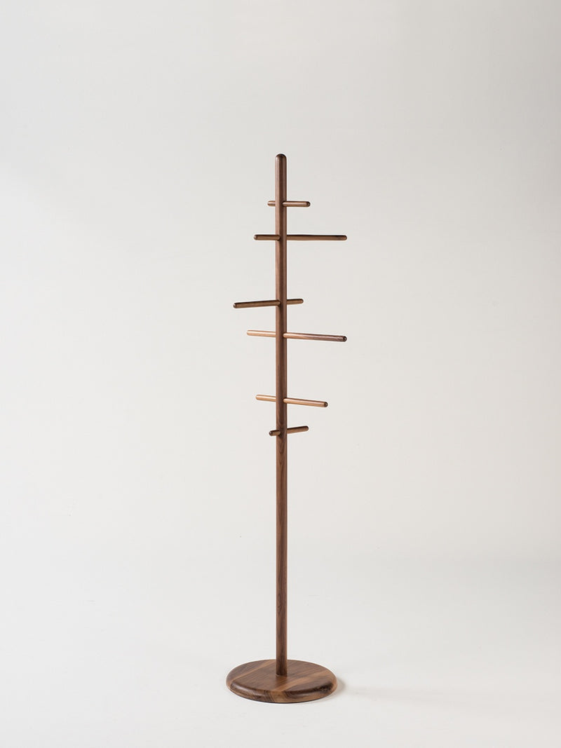 Mast Coat Stand Walnut