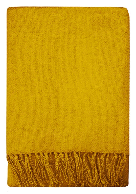 Rhapsody Acrylic Throw - Sulphur