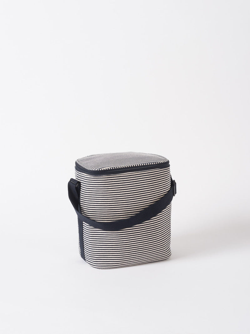 Stripe Cooler Bag Navy/White