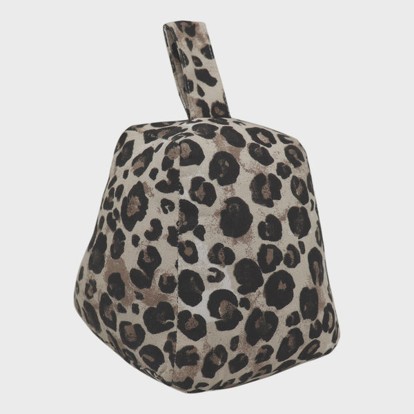 Cheetah Spot Doorstop